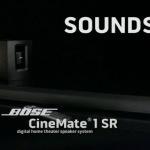 Обзор активного саундбара Bose CineMate 1 SR