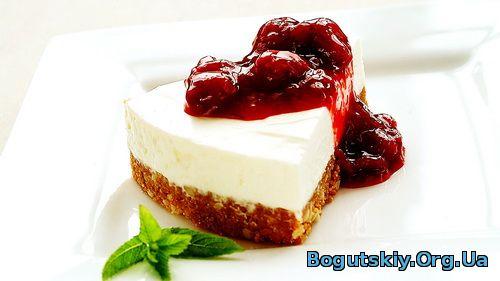 вечерний десерт для блога