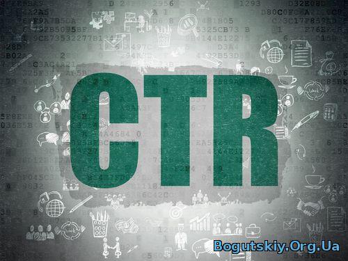 Как рассчитывается CTR